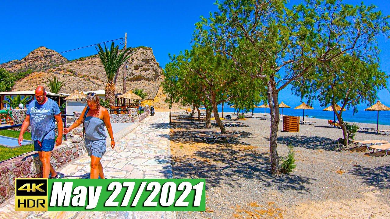 Walking in Agia Galini, Crete Greece 2021