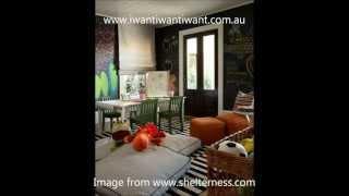 Chalkboard Walls With Ria Fitzgerald, Interior Stylist Of I Want I Want I Want!