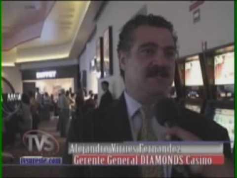 "TVS Noticias.- Gran apertura, ""Diamonds Casino"", Coatzacoalcos, Veracruz"