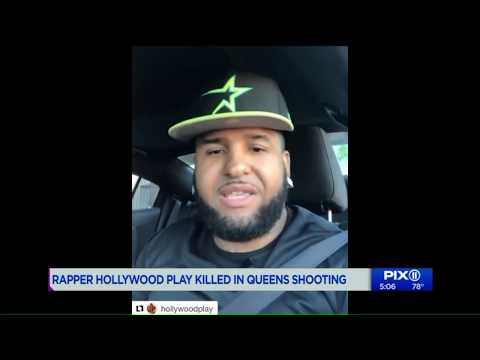 Rapper Hollywood Play shot and killed at Queens bar: police