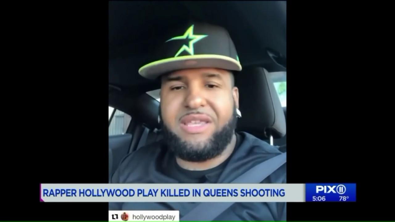 Rapero Hollywood Play muerto a tiros en Nueva York