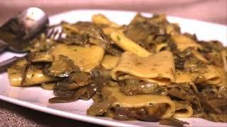 Pasta con i Carciofi Perfetta - Paccheri Saltati con Carciofi e Pecorino