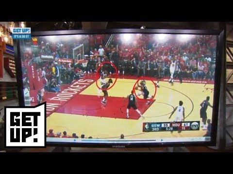 Jalen Rose breaks down film of Warriors playing off Steph Curry in Game 7 | Get Up! | ESPN