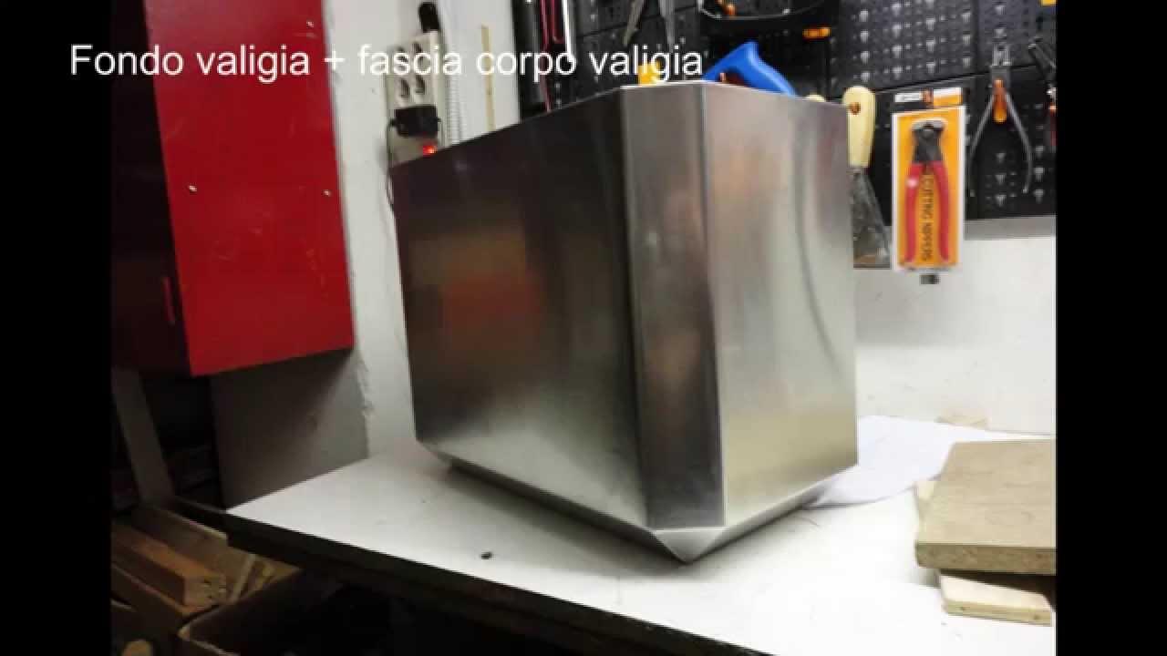 Valigie laterali moto in alluminio autocostruite  YouTube