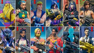Fortnite ALL New Bosses, Mythic Weapons, NPC Boss Locations in Season 6