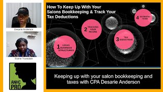 Keeping Up With Your Salon's Bookkeeping & Taxes