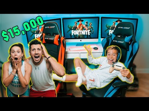 My Parents REACT To My New GAME ROOM! *Gone Too Far* | The Royalty Family
