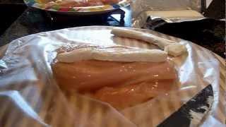 Garlic, Lemon Double Stuffed Chicken