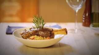Lamb Shank With Rosemary And Couscous Recipe - Cuisine Solutions