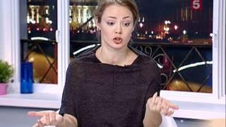 Карина Разумовская актриса театра и кино в программе Утро на 5 2