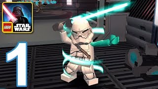 LEGO Star Wars The New Yoda Chronicles - Gameplay Walkthrough Part 1 - The Light Side (iOS, Android)