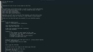 [docker] ubuntu 이미지 이용하여 nginx…