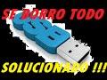 COMO RECUPERAR ARCHIVOS ELIMINADOS VIRUS DE UNA MEMORIA USB (sin programas) 2017. PARA PRINCIPIANTES