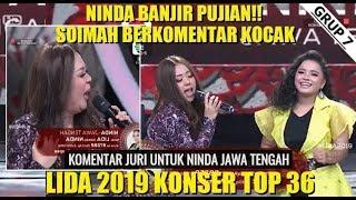 Lida dangdut indosiar(9 maret 2019) wowww ninda banjir pujian mak soimah..!!!