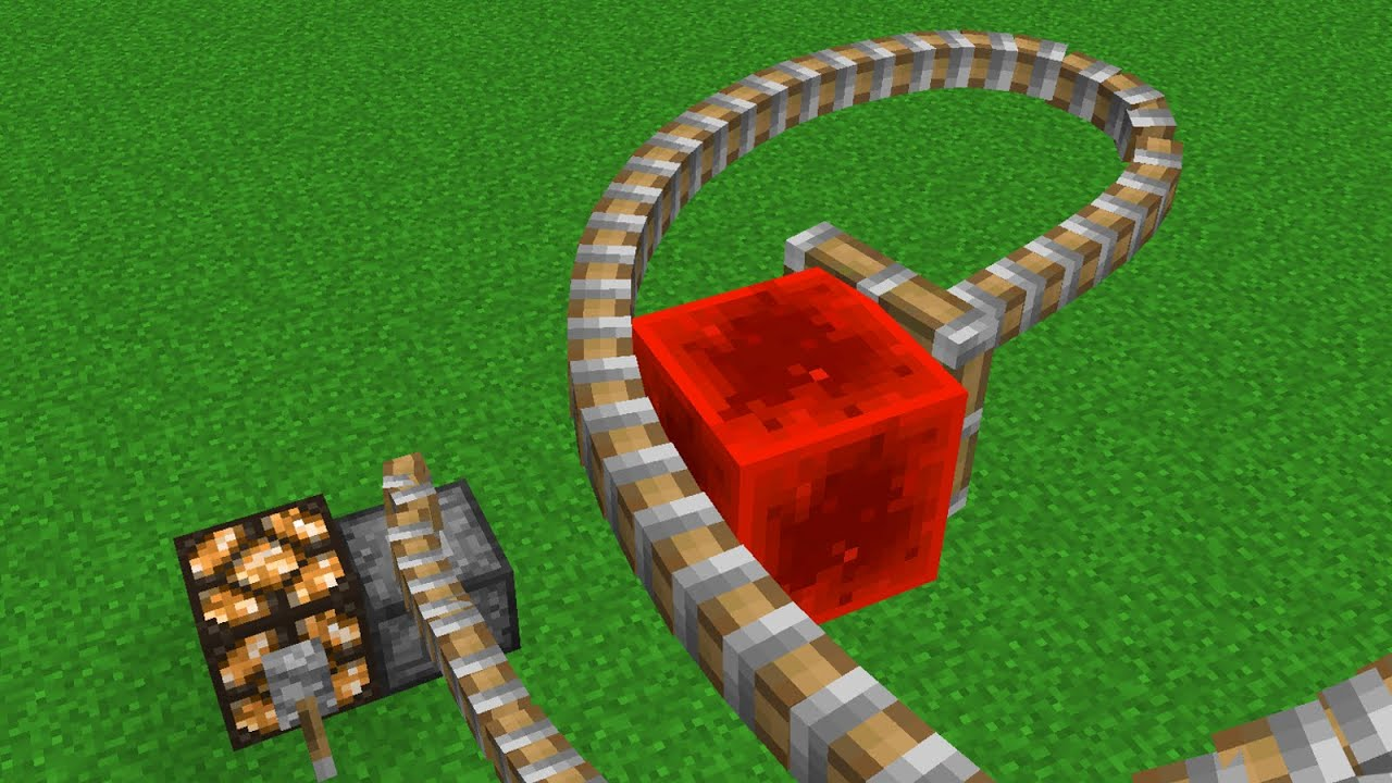 Minecraft   Cursed Images 31 (Flexible Piston) - YouTube