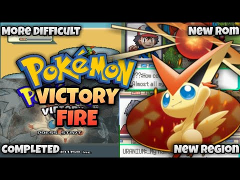 Pokemon Victory Fire Completed ROM GBA With New Region