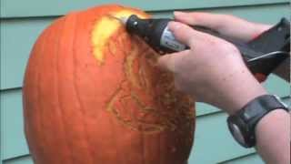 How to Carve a Pumpkin With a Dremel Tool