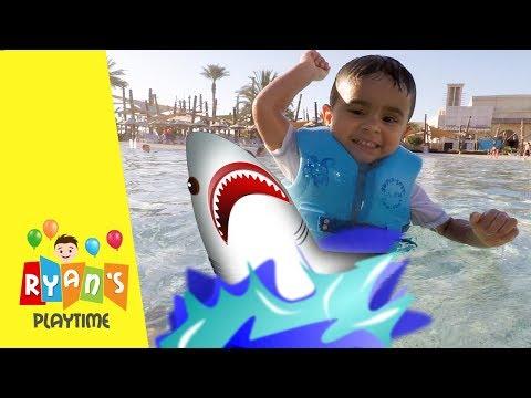 SHARK ATTACK IN YAS WATERWORLD WATER PARK