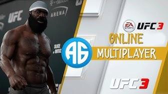 EA SPORTS UFC 3 MULTIPLAYER - A PRIMEIRA VEZ ONLINE  (Português-BR) KIMBO LEGEND SLICE