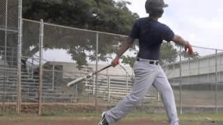 Matt Reynolds batting practice