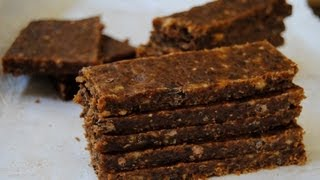 Energy Bars, 4 Ingredients, Lunches & Snacks, Cooking With Kim