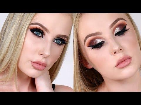 NEW YEAR'S EVE Makeup Tutorial (Fair Skin!) | Lauren Curtis