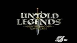 Untold Legends: Brotherhood of the Blade Sony PSP Review -