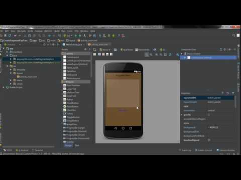 Android Studio Tutorial   40   Add a Fragment to an Activity at Runtime