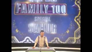 RADHA FARHAN JADI PEMBAWA ACARA TV