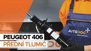 Montáž zadní Tlumic perovani PEUGEOT 406 Break (8E/F): video zdarma