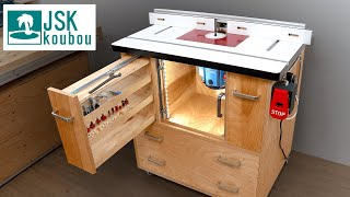 Make a Router table / trimmer table