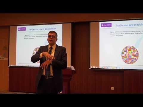 Professor Pankaj Ghemawat at NYU Shanghai on the Laws of Globalization