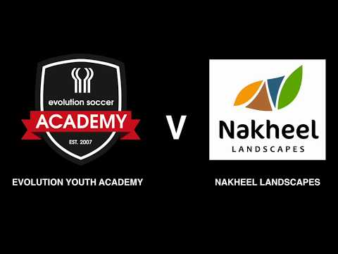 Match Day 10: Evo Youth Academy Vs Nakheel Landscapes - Fixture 10 2017/18 season