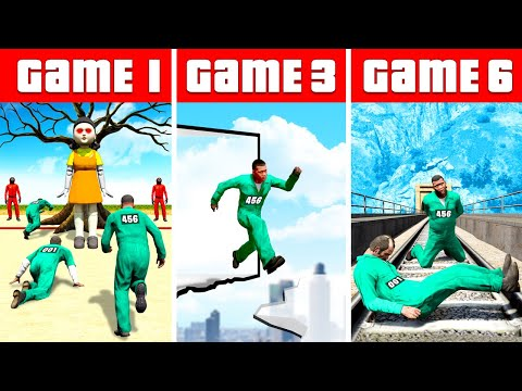 Survive SQUID GAME in GTA 5 |