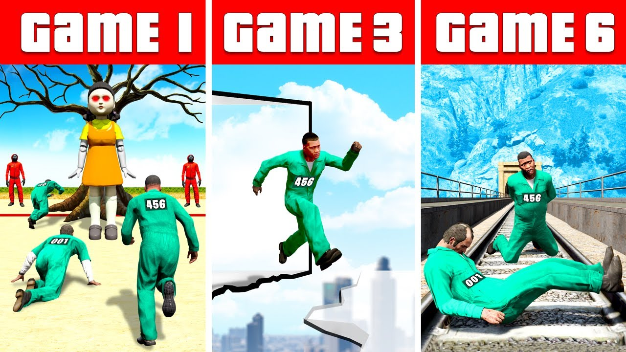 Download Survive SQUID GAME in GTA 5