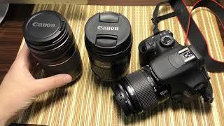 Что нужно купить для зеркальной камеры?