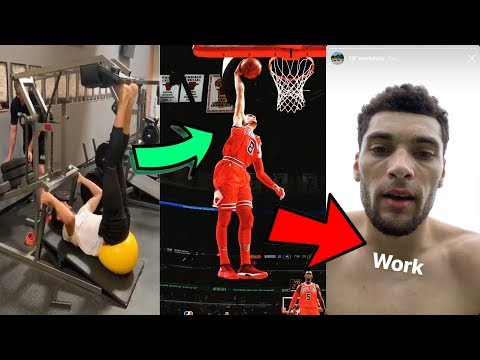 Zach Lavine's Workout For A CRAZY VERTICAL JUMP And ACL Recovery