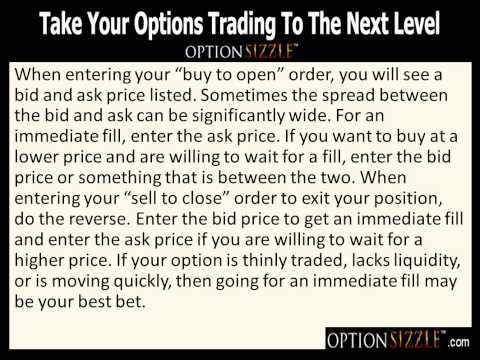 Options trading for dummies video
