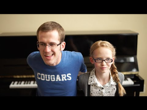 Frozen Fever - 'Dueling Piano Siblings' Frozen Mashup + Backwards Piano
