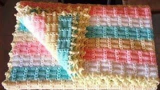Tığ İşi Battaniye Modeli ve Yapımı Anlatımlı , Canım Anne