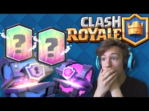 DESCHIDEM SUPER MAGICAL CHEST SI MAGICAL CHEST SI LUAM 2 LEGENDARE NOI ! Clash Royale Romania !