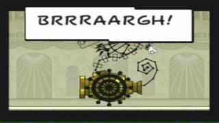 Let's Play Super Paper Mario, Part 61 - Bonechill Boss Battle