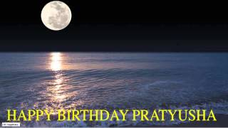 Pratyusha  Moon La Luna - Happy Birthday