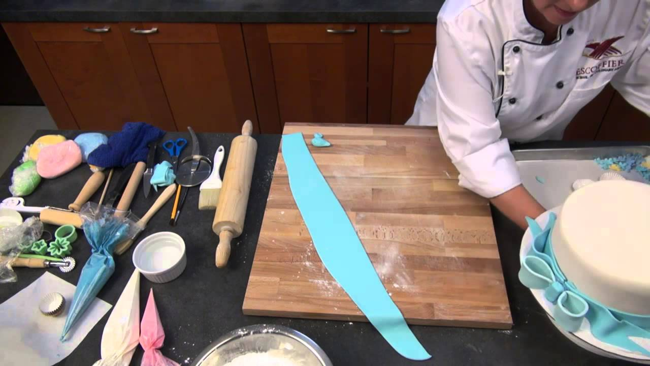 How To Make Fondant Decorations - YouTube