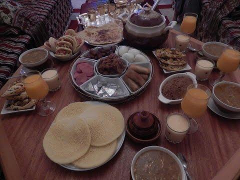 مائدة الإفطار في رمضان مع طبخ ليلى