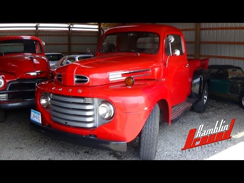 1949 Ford F3 Pick-up Original V8 Flathead Manual Trans At Country Classic Cars