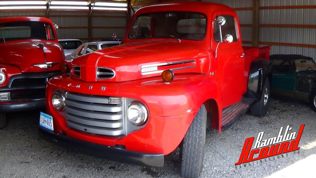 1949 Ford F3 Pick Up Original V8 Flathead Manual Trans