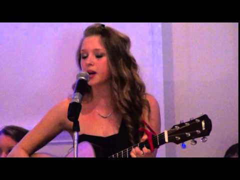 Samantha Colon singing Then by Brad Paisley (Cover)