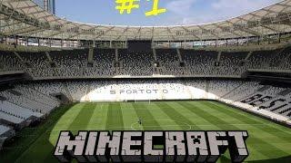 [#1] Vodafone Arena için İlk Kazma Vuruldu | Minecraft |