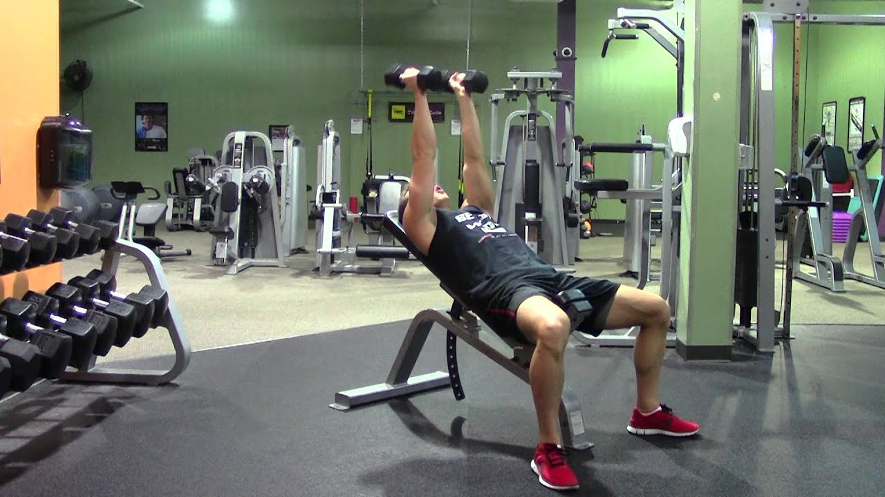 incline tricep extension - photo #22
